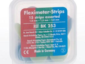 BK253 FLEXIMETER STRIPS SDO. 15u.