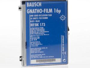 BK173 PAP.ART. GNATHO FILM AZUL HOJAS 70x100mm 50u