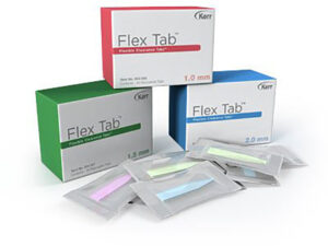TIRAS FLEXIBLES CLEARANCE VERDE 1,5mm. 30u.