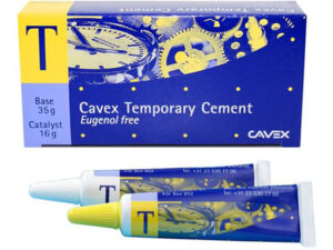 CAVEX TEMPORARY CEMENT 35gr.+15gr.