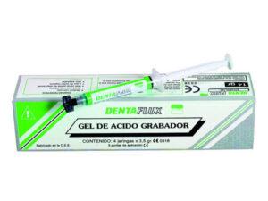 GEL ACIDO GRABADOR 37% JER. 4×3,5gr.