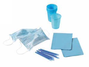 KIT 4 DESECHABLES CELESTE 500 PACIENTES