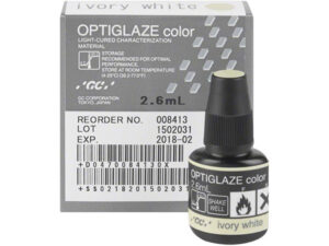 OPTIGLAZE COLOR IVORY  WHITE 2,6 ml. 008413