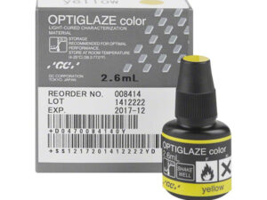 OPTIGLAZE COLOR YELLOW 2,6 ml. 008414