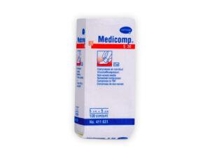 GASAS MEDICOMP 5x5cm. 30g. 4pl. 100u.