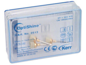 2513 OPTISHINE CEPILLOS PULIR 3u.