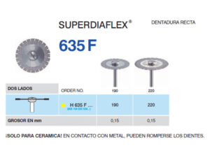 H635F-190 PM DISC.DIAM.SUPERFL