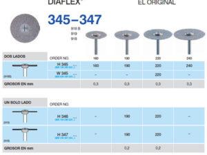 H347-220 PM DISC.DIAMANTE FLEX