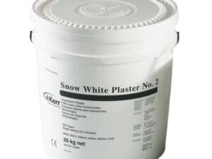 SNOW WHITE PLASTER YESO 20Kg.