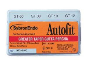 AUTOFIT GREATER TAPER GUTTA PERCHA SDO. 06-12 50u.