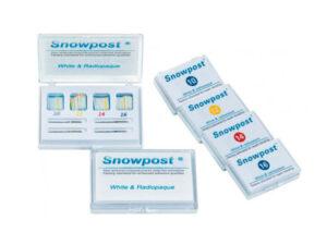 SNOWPOST REPOS.10 POSTES AMARILLO 1.2mm.