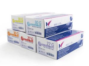 AGUJAS MEDICALINE 27G CORTA 0,4x25mm 100uds.