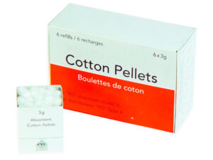 PELLETS ALGODON N.2 6mm.