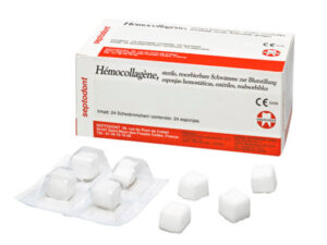 HEMOCOLLAGENE 15x15x8mm. 24u.