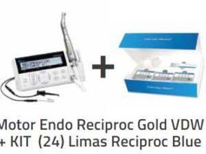 Motor Endo Reciproc Gold VDW + KIT (24) Limas Reciproc Blue