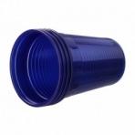 Vaso Plastico Akzenta Azul Oscuro 180 Ml 3000 Ud
