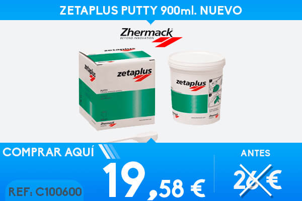 ZETAPLUS PUTTY 900ml.