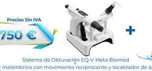 PACK ENDODONCIA DENTALIS IBERIA ( SISTEMA DE OBTURACIÓN + MOTOR )