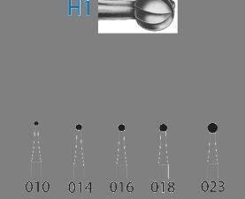 Fresas H1.205.014 KOMET carburo clínica 5 ud