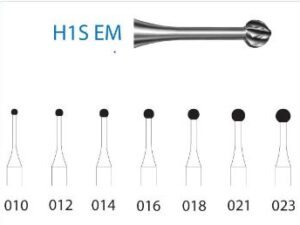FRESA H1SEM.204.012 KOMET carburo clínica 5 ud
