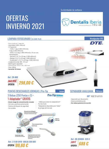 Ofertas distribuidor Dentalis Iberia 2021